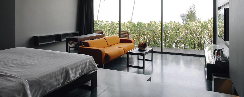 Pokój hotelowy w nowoczesnym stylu